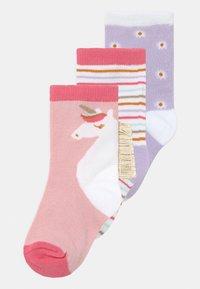 Cotton On - CREW 3 PACK - Socks - pink - 0