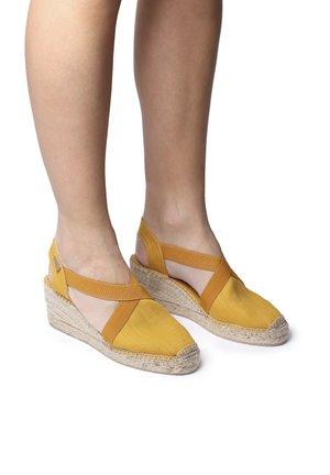 TER - Wedge sandals - yellow