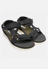 Camper - ORUGA - Sandalias - black/off-white - 4