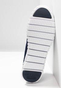 Cole Haan - ZEROGRAND STITCHLITE OXFORD - Baskets basses - marine blue/optic white - 6