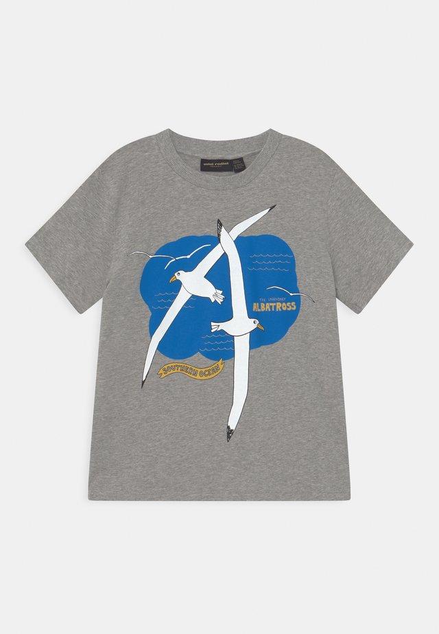 ALBATROSS TEE UNISEX - Print T-shirt - grey melange