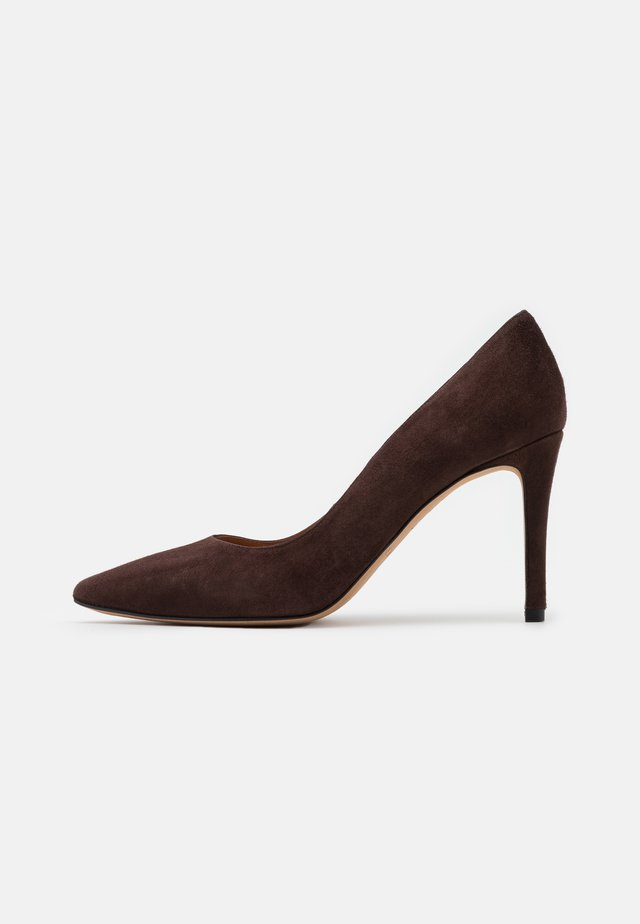 High heels - testa di moro