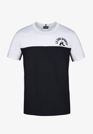 HISTOIRE DE SAISON - Print T-shirt - black / white