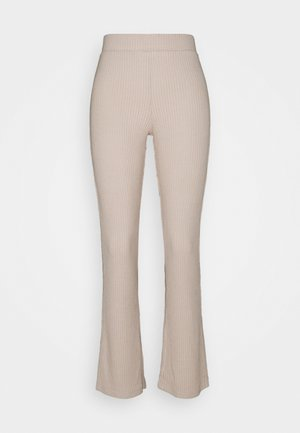 STINA TROUSERS - Pyjamasbukse - beige
