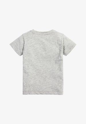 LIGHT GREEN SHORT SLEEVE T-SHIRT (3MTHS-7YRS) - Basic T-shirt - grey