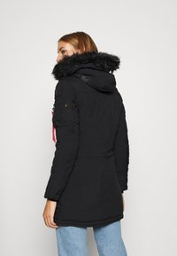 Alpha Industries - POLAR JACKET - Winter coat - black - 3