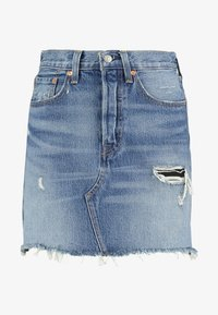 Levi's® - DECON ICONIC SKIRT - Áčková sukně - high plains - 3