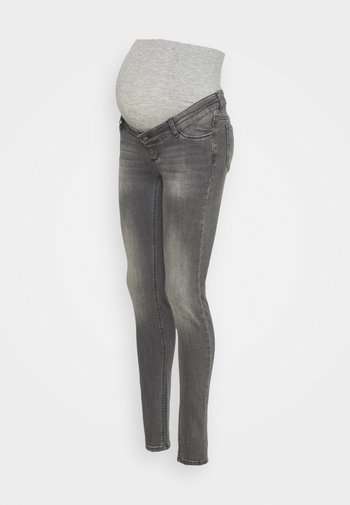 MLMAINE - Slim fit -farkut - grey denim