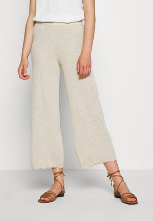 ONLLINA CULOTTE PANT - Pantalon classique - pumice stone
