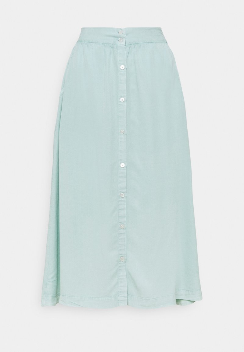 LTB - BELONIA - A-line skirt - aqua dusty wash