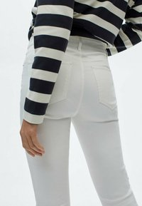Massimo Dutti - Jeans Skinny Fit - white - 2