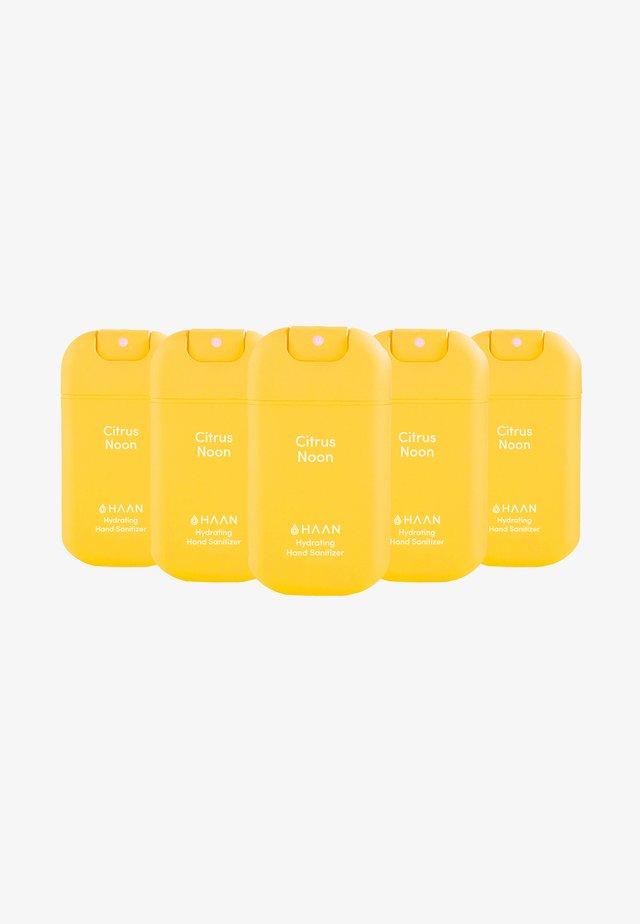 HAAN 5 PACK HAND SANITIZER - Bad- & bodyset - citrus noos