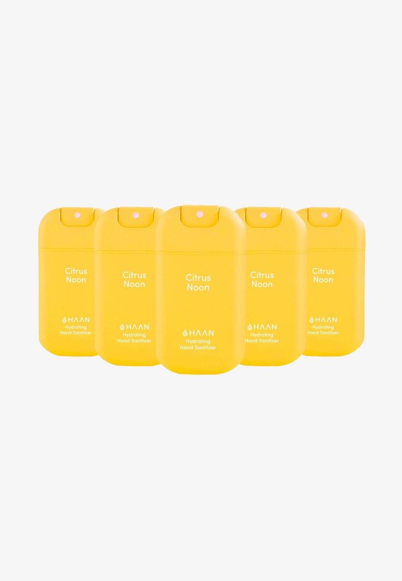 Haan - HAAN 5 PACK HAND SANITIZER - Bad- & bodyset - citrus noos