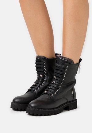 FLARE - Winter boots - black