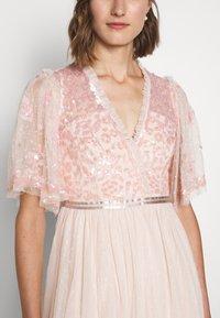 Needle & Thread - PATCHWORK BODICE BALLERINA DRESS - Koktejlové šaty/ šaty na párty - ballet slipper/pink - 6