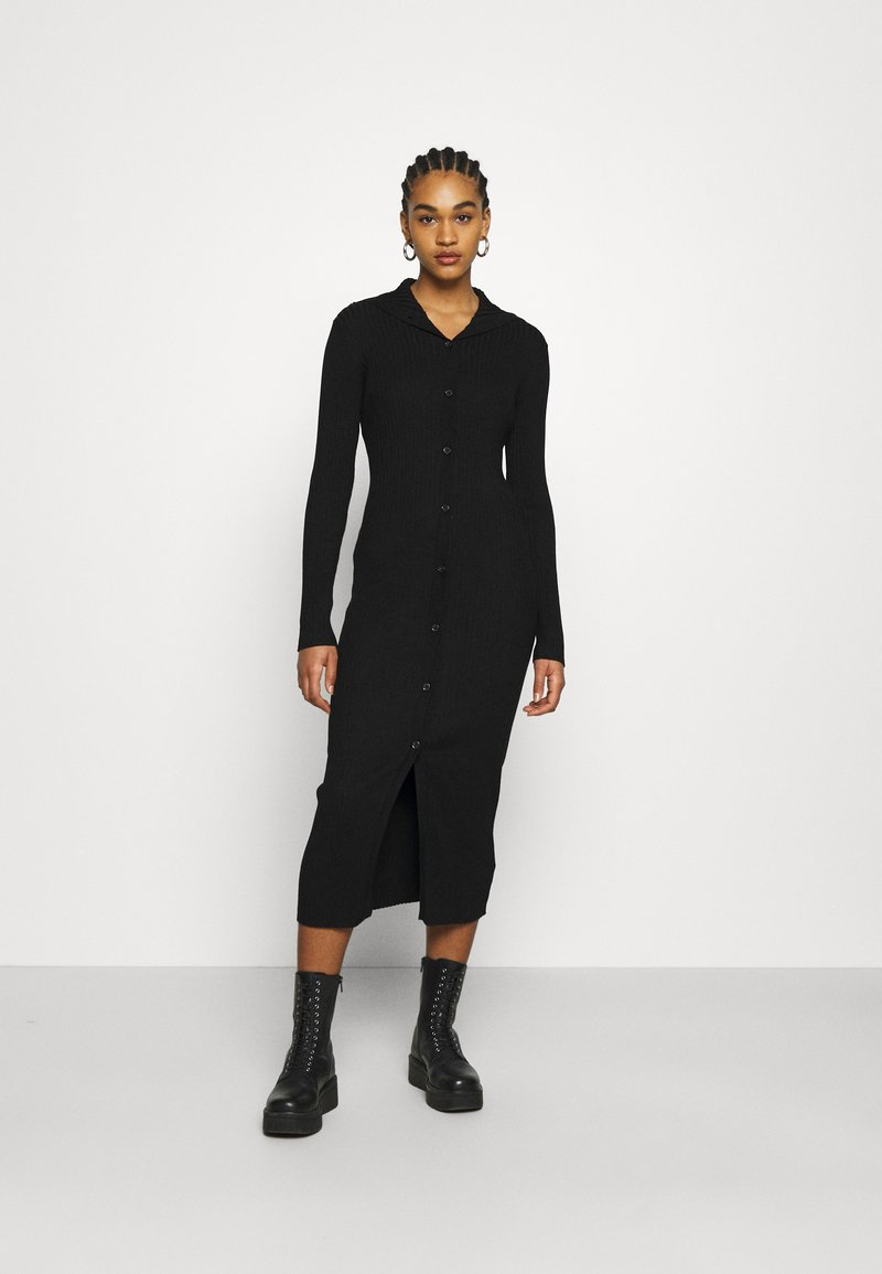 Monki - KATJA DRESS - Jumper dress - black