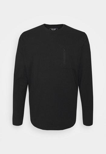 ONSMAKHI LIFE POCKET TEE  - Maglietta a manica lunga - black