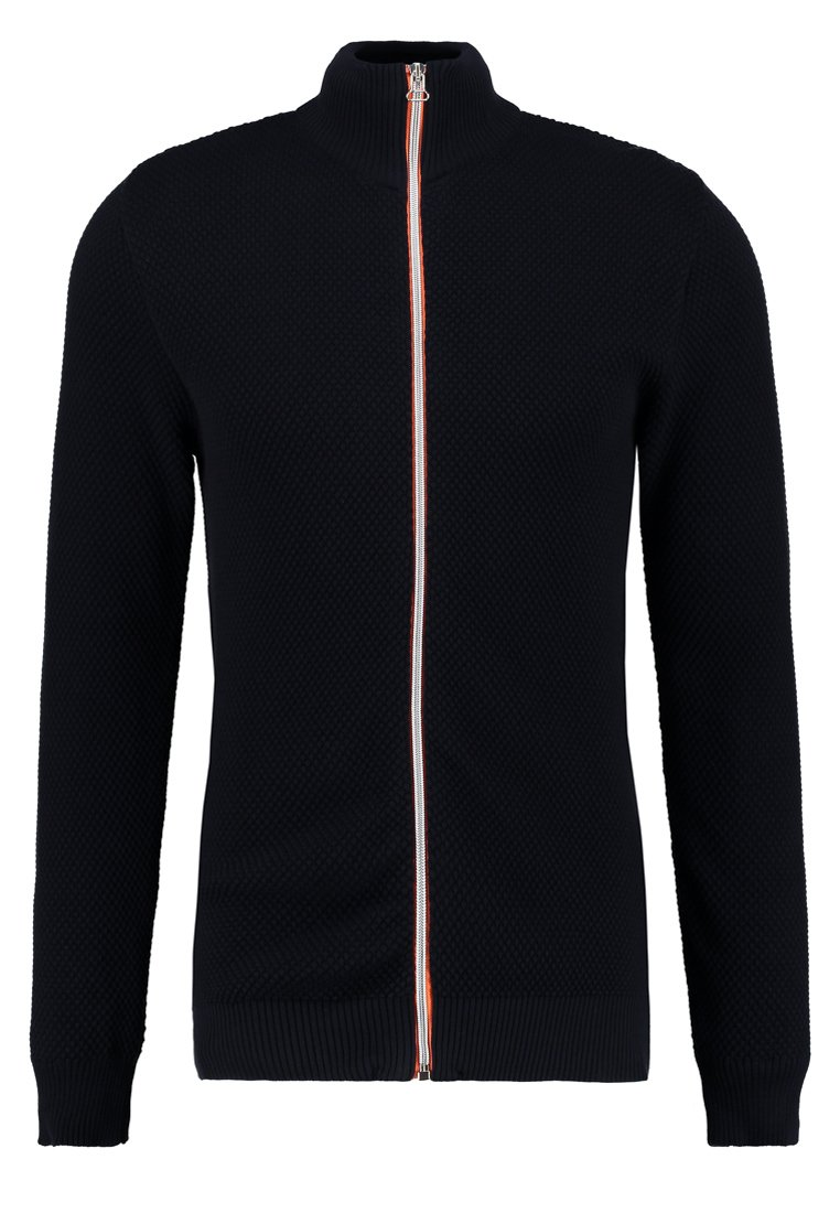Kronstadt ERIK ZIP - Gilet - navy/orange