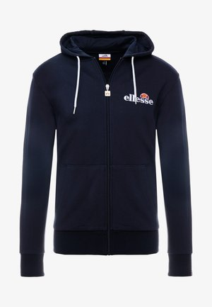 BRIERO - Zip-up hoodie - navy