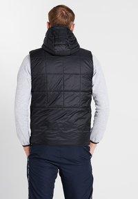 Lacoste Sport - JACKET - Outdoorjacka - black/silver chine - 2