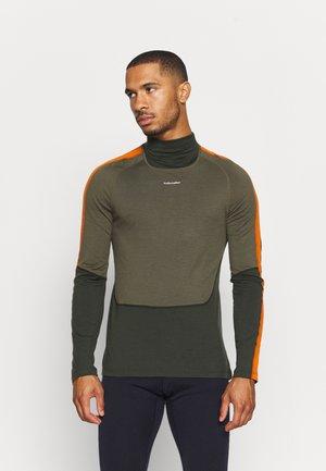SONEBULA HIGH NECK - Long sleeved top - kale/loden/spice