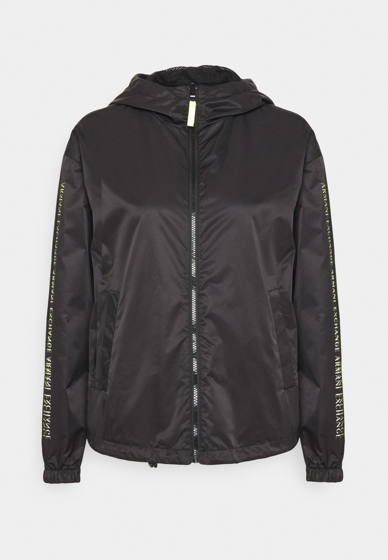 Armani Exchange - Summer jacket - black