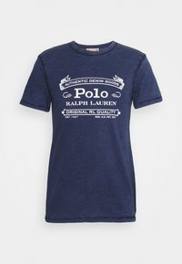 Print T-shirt - cruise navy