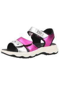Primigi - Walking sandals - magenta argento - 1