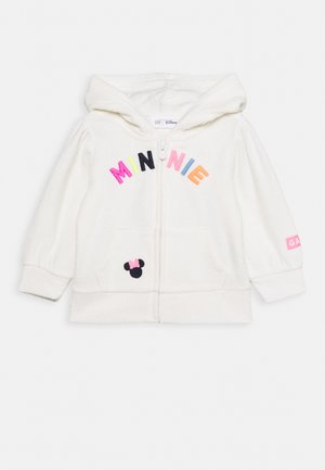 TODDLER GIRL LOGO - veste en sweat zippée - white