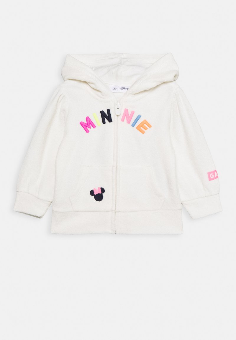 GAP - TODDLER GIRL LOGO - Mikina na zip - white