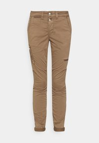 Mos Mosh - VALERINE CARGO PANT - Trousers - brown - 3