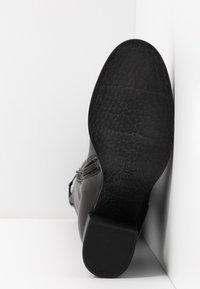 MJUS - Vysoká obuv - nero - 6