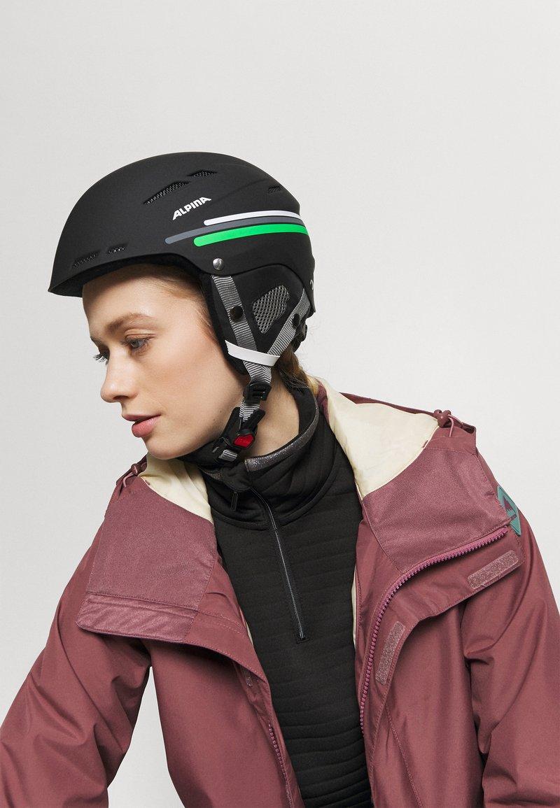 Alpina - BIOM UNISEX - Helm - black-grey matt