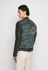 Be Edgy - ANDY  - Leather jacket - indigo - 2