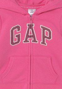 GAP - Zip-up sweatshirt - devi pink - 2