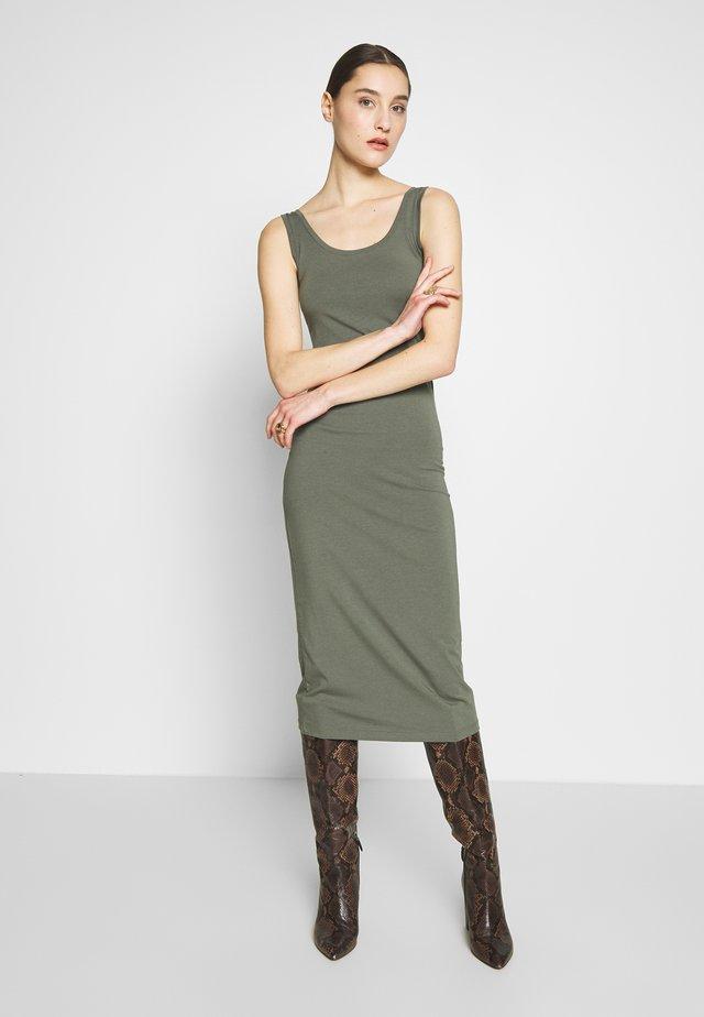 TULLA  - Jersey dress - khaki