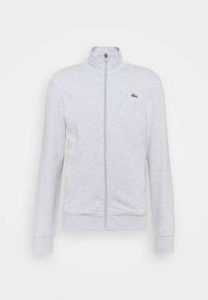 Zip-up hoodie - silver chine/elephant grey