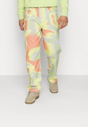 ACID SWIRL PRINTED - Relaxed fit jeans - multi