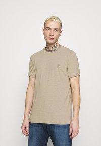 AllSaints - TONIC CREW - Basic T-shirt - pewter grey marl - 0
