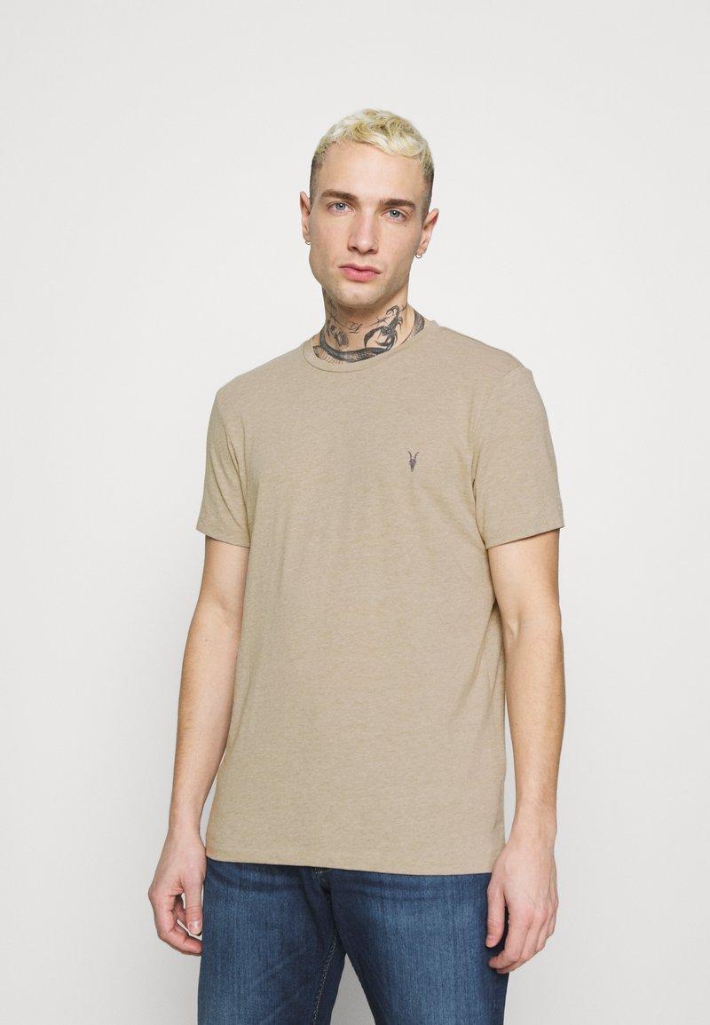 AllSaints - TONIC CREW - Basic T-shirt - pewter grey marl