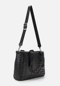 PARFOIS - BRIEFCASE FLUFFY SET - Laptop bag - black - 1