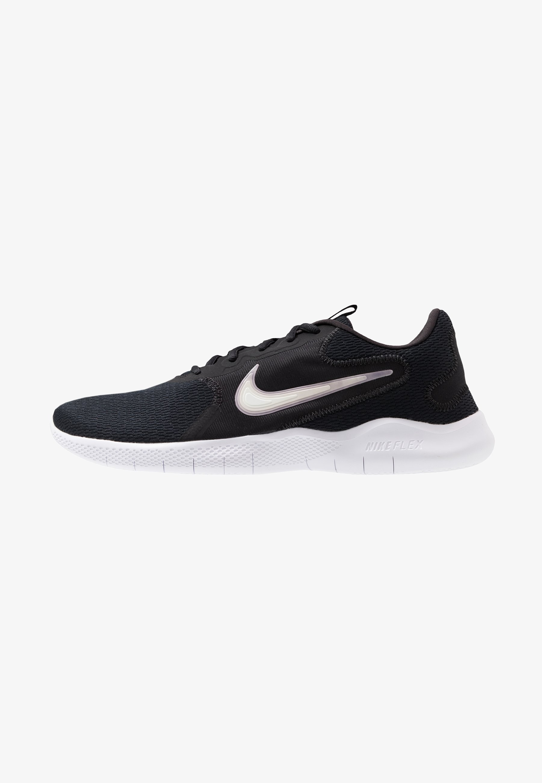 grava foso recurso  Nike Performance FLEX EXPERIENCE RUN 9 - Competition running shoes -  black/white/dark smoke grey/black - Zalando.co.uk