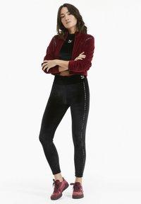 Puma - Zip-up hoodie - pomegranate - 1