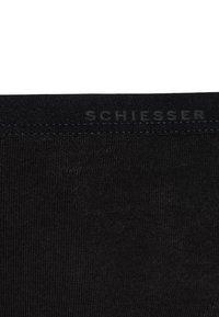 Schiesser - SLIPS BASIC 2 PACK - Briefs - black - 2
