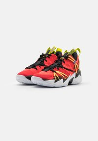 Jordan - WHY NOT ZER0.3 SE UNISEX - Basketbalové boty - bright crimson/black/universe red/white/bright cactus/citron pulse - 1