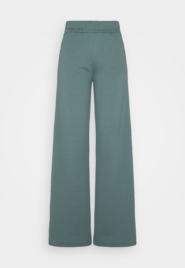 EXCLUSIVE HELLA SLIT PANTS - Jogginghose - sage green