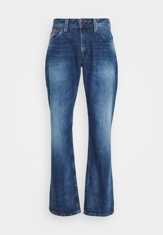 NEW JEANIUS - Relaxed fit jeans - blue denim