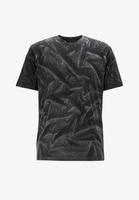BOSS - TSOIL - Print T-shirt - black - 4
