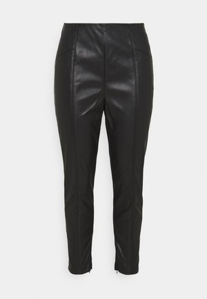 MISSY SPLICED - Leggings - Trousers - black