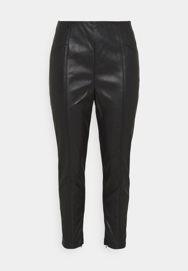 MISSY SPLICED - Leggingsit - black
